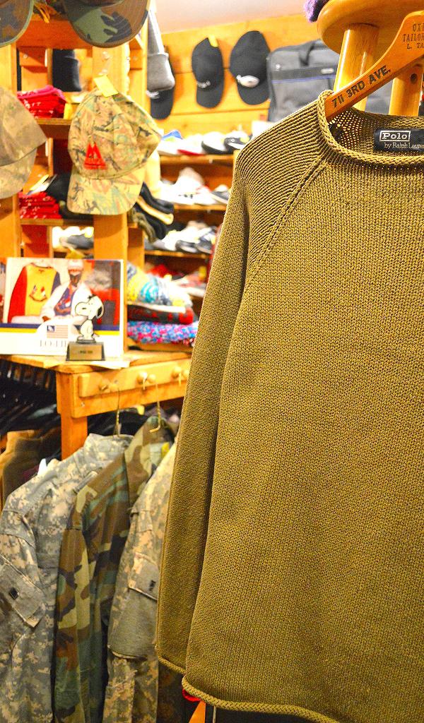 ポロラルフローレンPOLOニットセーター画像メンズレディースコーデ@古着屋カチカチ04