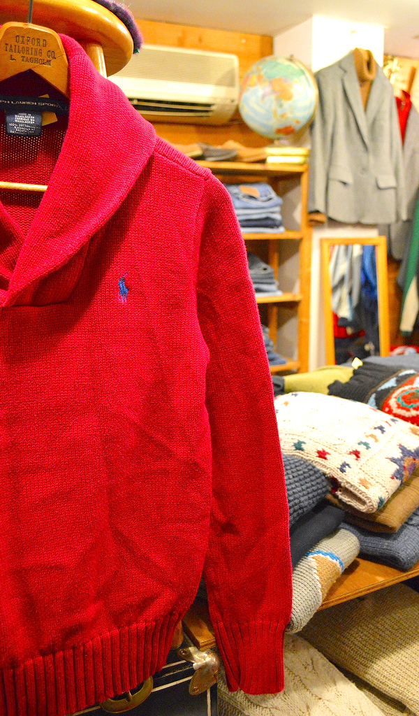 ポロラルフローレンPOLOニットセーター画像メンズレディースコーデ@古着屋カチカチ06