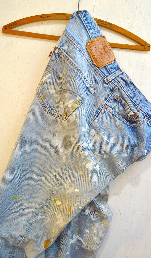 リーバイス501Jeansジーンズ画像デニムパンツ画像05