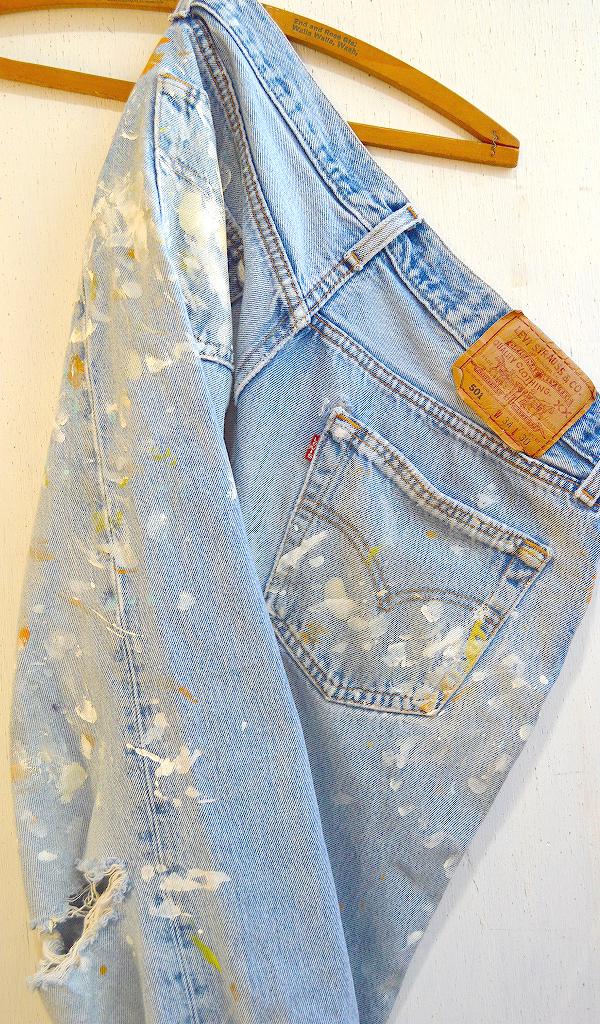 リーバイス501Jeansジーンズ画像デニムパンツ画像07