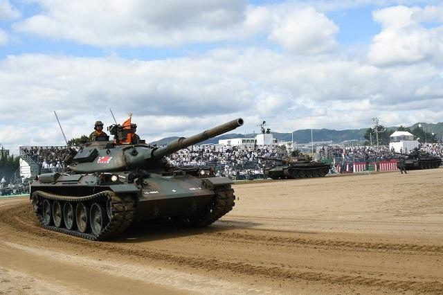 戦車走行6