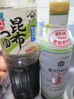 醤油とつゆ