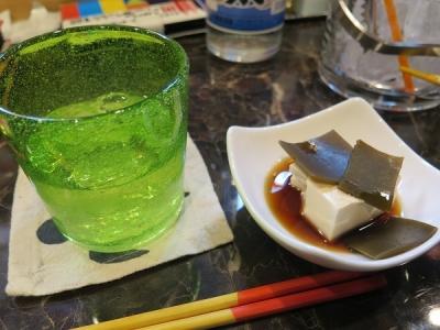 湯豆腐の突き出し