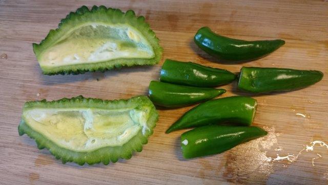 夏野菜を惜しんで (3)