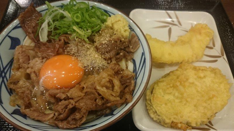 牛スキ釜玉 (2)