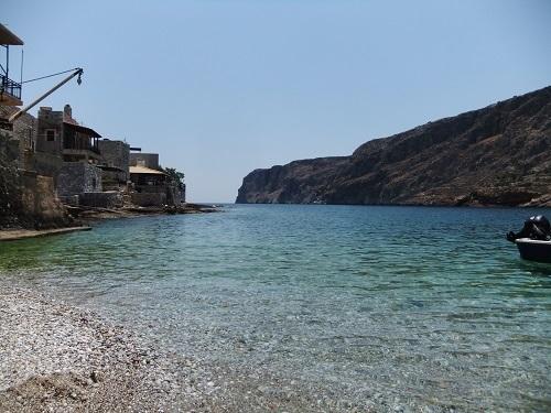 イェロリメナス_宿の前でひと泳ぎ (1)