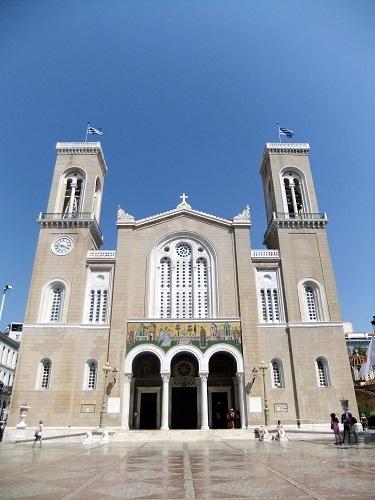 アテネ_ (13)ミトロポレオス大聖堂