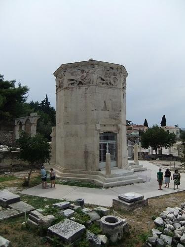 アテネ_風の塔で (2)