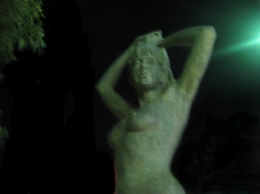 20パー 修正後 銅像 黒く塗る