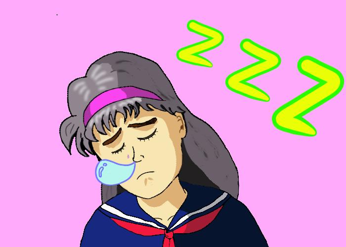 考え込み 寝込む 宮沢