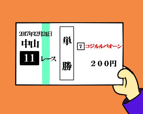 コジルルパオーン 200円