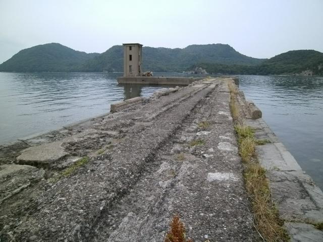 佐世保海軍工廠 川棚魚雷遠距離発射場 射場 (2)