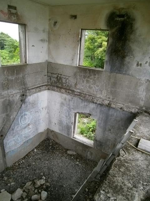 佐世保海軍工廠 川棚魚雷遠距離発射場 観測所 (7)