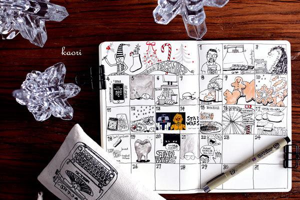 絵日記形態模索中。