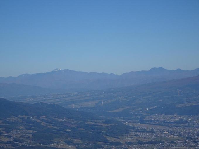 日光白根山と皇海山