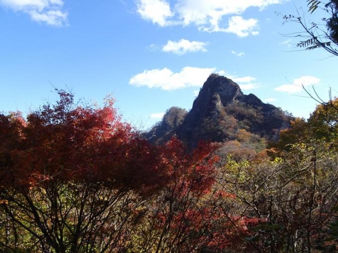 一本杉から金鶏山