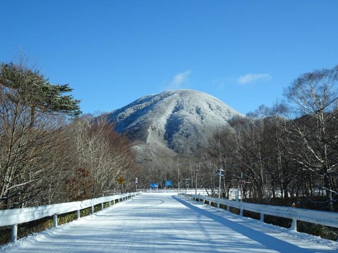 黒檜山、白いけど