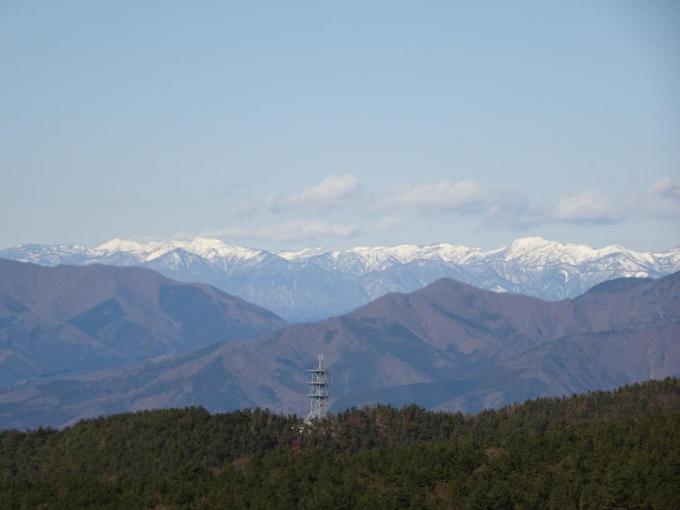 岩菅山から白砂山