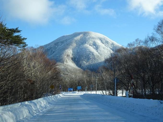 霧氷の黒檜山