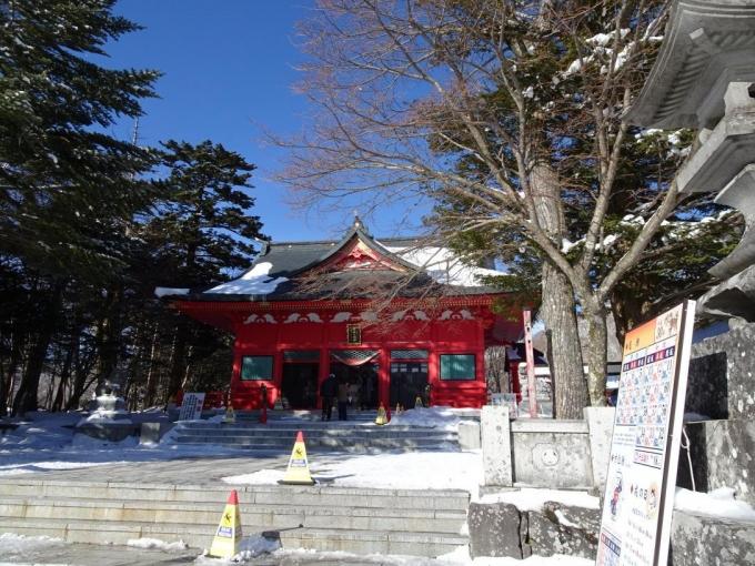 赤城神社へ