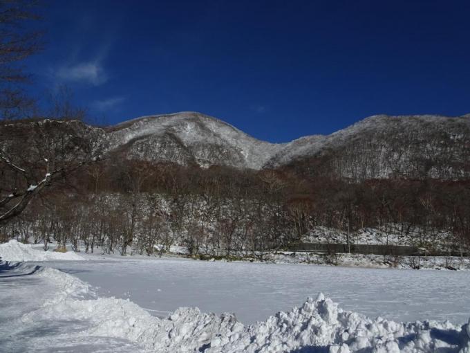 赤城神社から黒檜山
