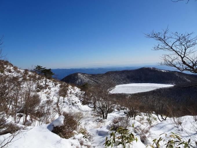 小沼と長七郎山