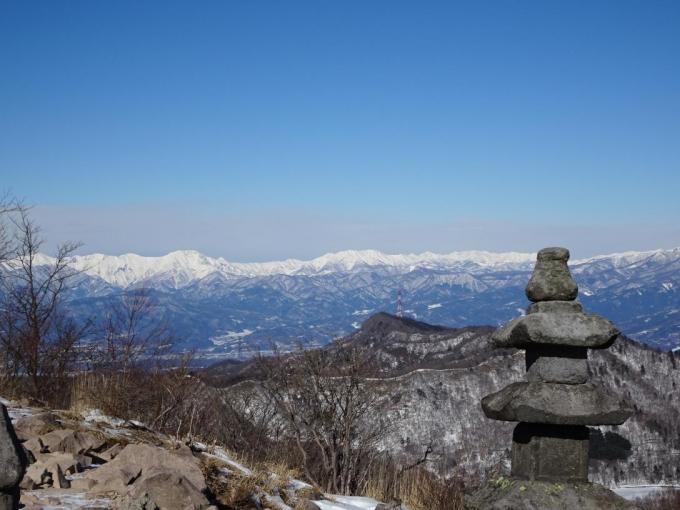 地蔵岳から
