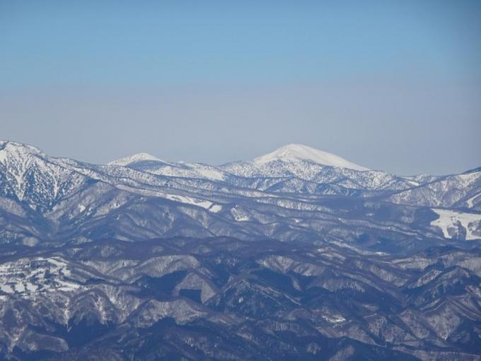 笠ヶ岳、至仏山