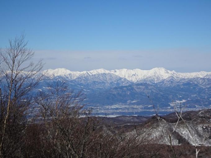 谷川岳から万太郎山