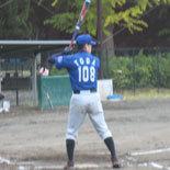 2回表、戸田の内野安打で無死満塁