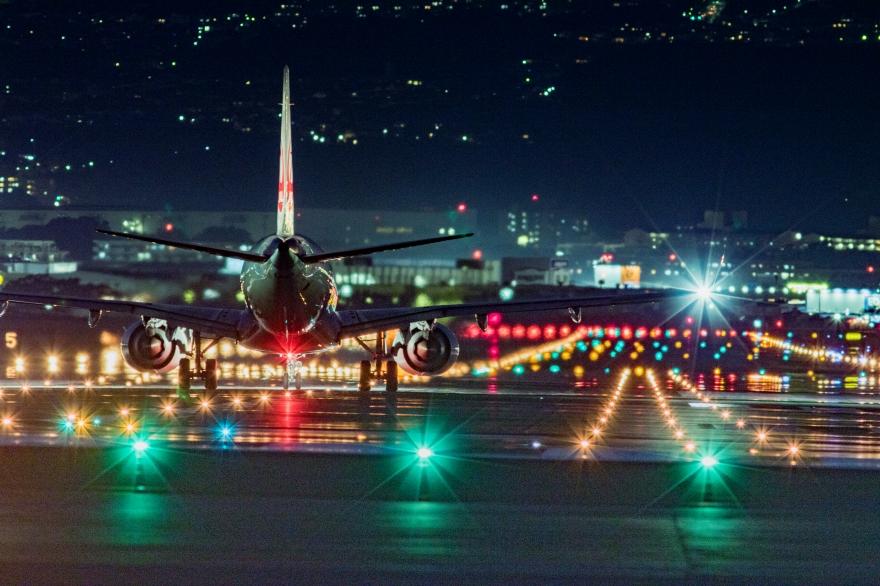 大阪国際空港 離陸前 (5)