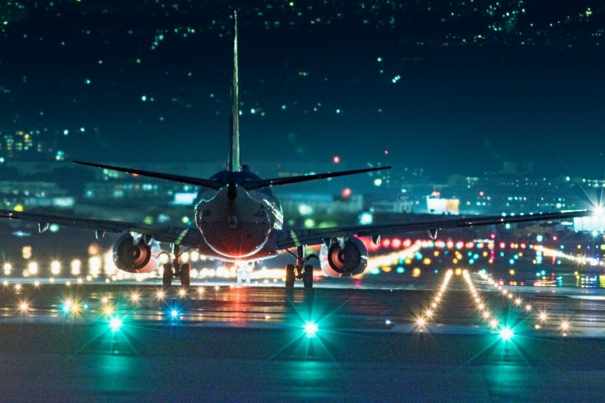 大阪国際空港 離陸前 (6)