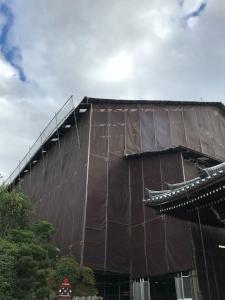 京都清水寺の大改修