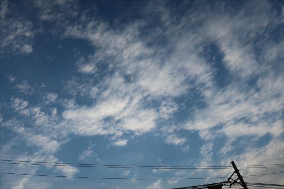 困った時は空と雲の写真02