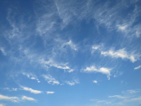 困った時は空と雲の写真08