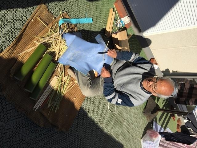 竹ひご作り