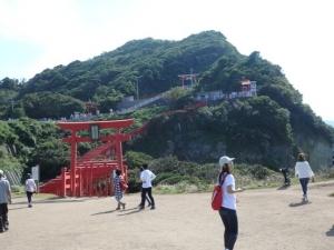 元の隅稲成神社全景