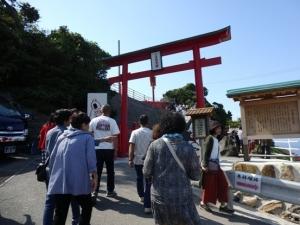 元の隅稲成神社入口