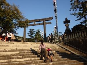 亀山神社鳥居1