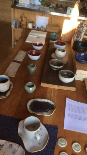 12番カフェレストラン シュウ (Shu)への陶芸家出品
