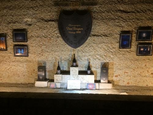 ドンペリのイベント開催記念の名残