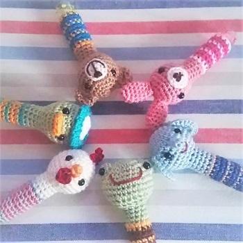 korokoro編みぐるみキャップ