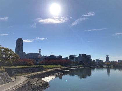 広島市内紅葉