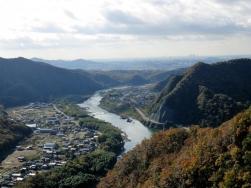 木曽川景観