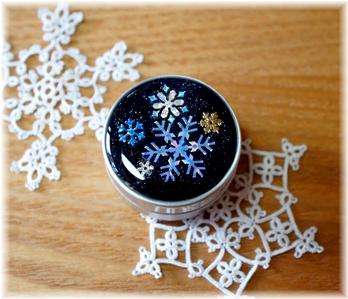 雪の結晶ケース1