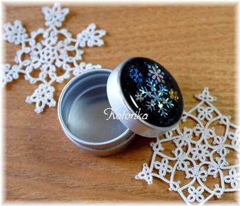 雪の結晶ケース2