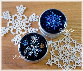 雪の結晶ケース3