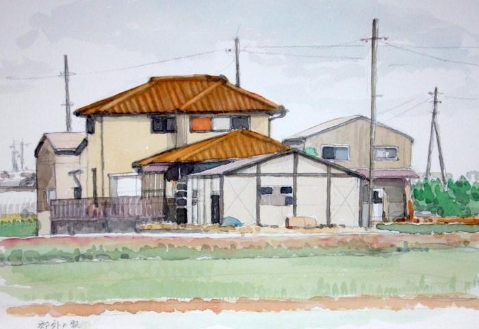 八幡市の農家 (700x480)