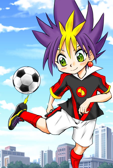 ボールと戯れる魔王