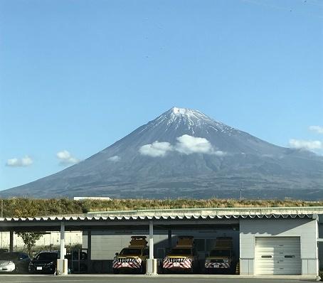 富士山バッチリだわ